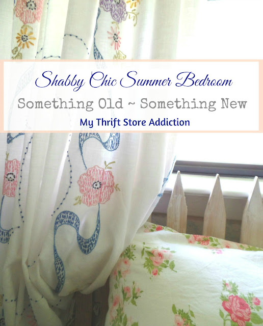 shabby chic summer bedroom