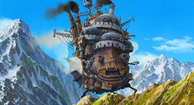 O Castelo Animado / Howl's Moving Castle / Howl no Ugoku Shiro (FILME COMPLETO)