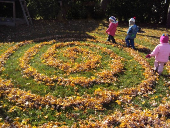 Autumn Outdoor Play Ideas