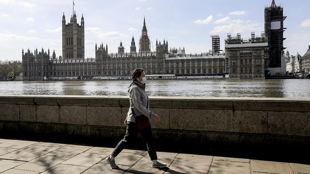El Reino Unido superó los 20.000 muertos por coronavirus