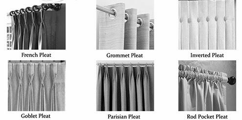 布窗簾款式|國外長見的布窗簾款式常見六種以上,台灣僅兩種