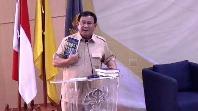 Prabowo: Begitu Menang Pilpres, Saya akan Jemput Rizieq Shihab .saya akan kirim pesawat saya sendiri