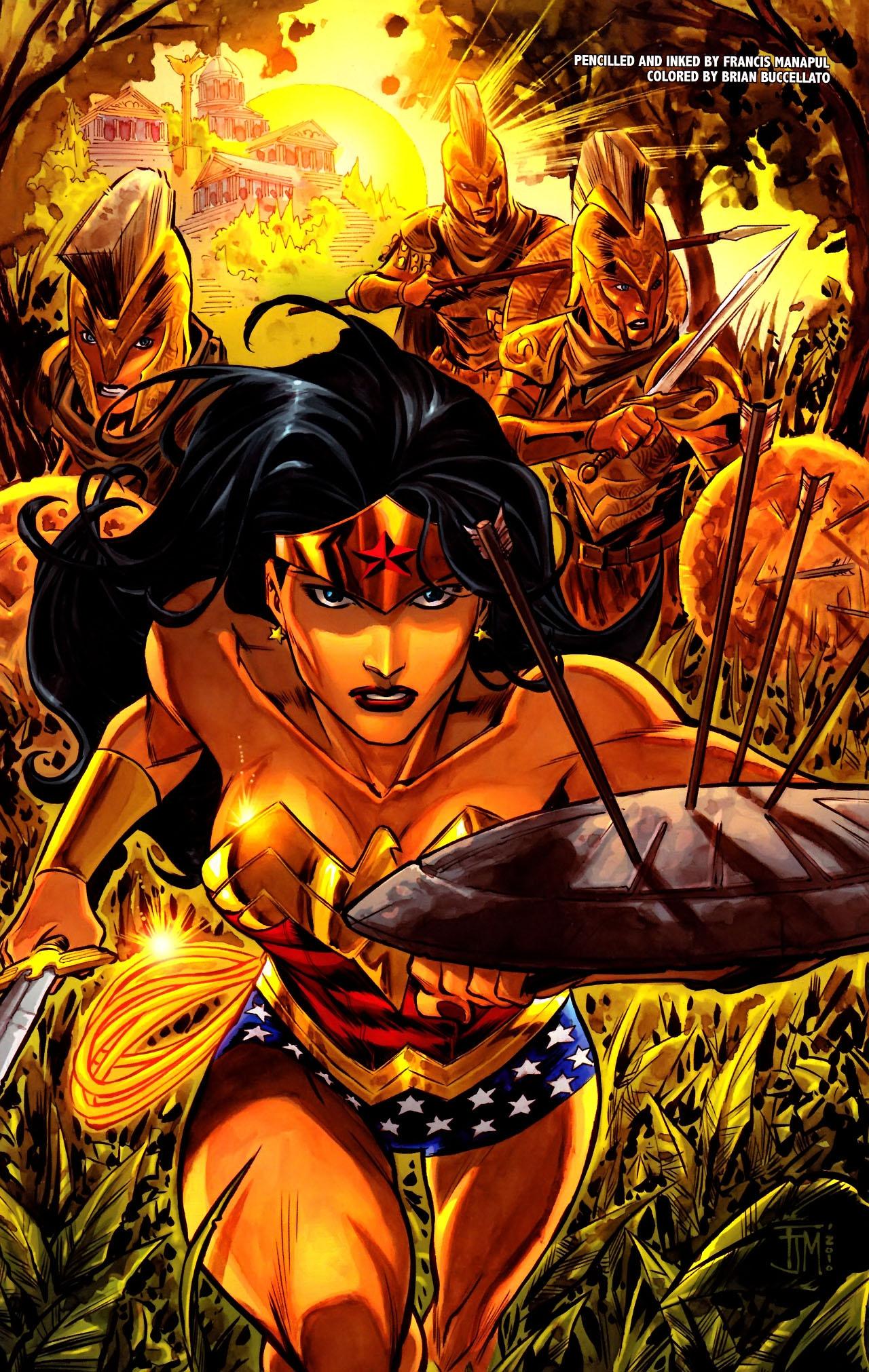 Read online Wonder Woman (2006) comic -  Issue #600 - 19