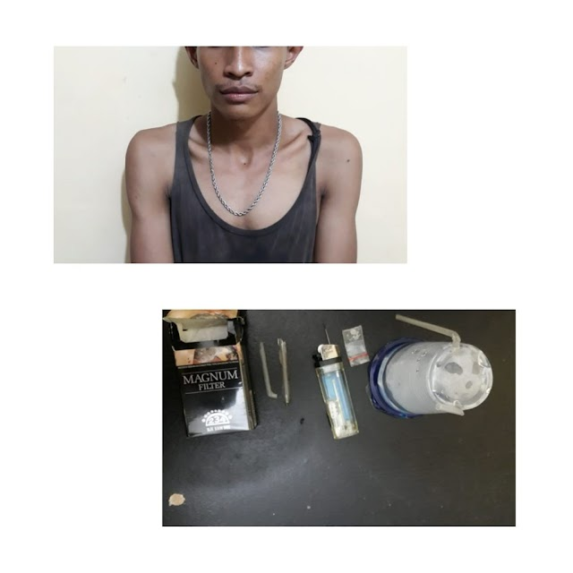 Polsek Medan Barat Berhasil Tangkap Pelaku Narkoba
