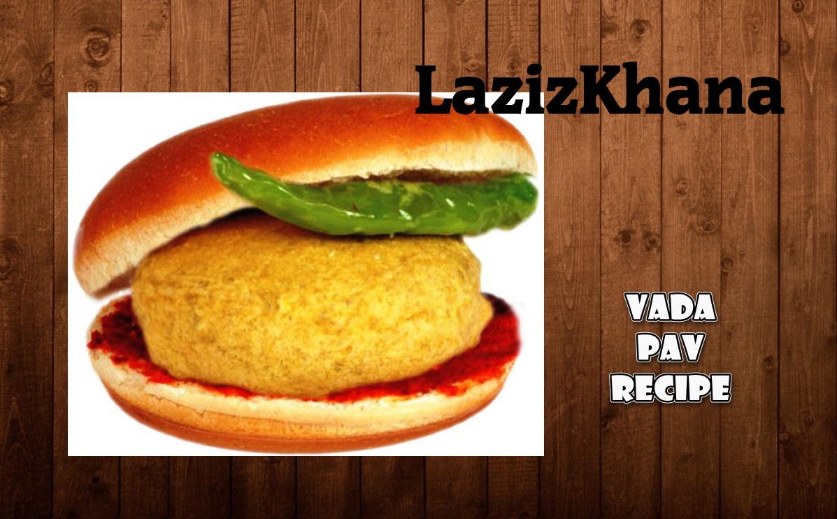 वड़ा पाव बनाने की विधि - Vada Pav Hindi Recipe