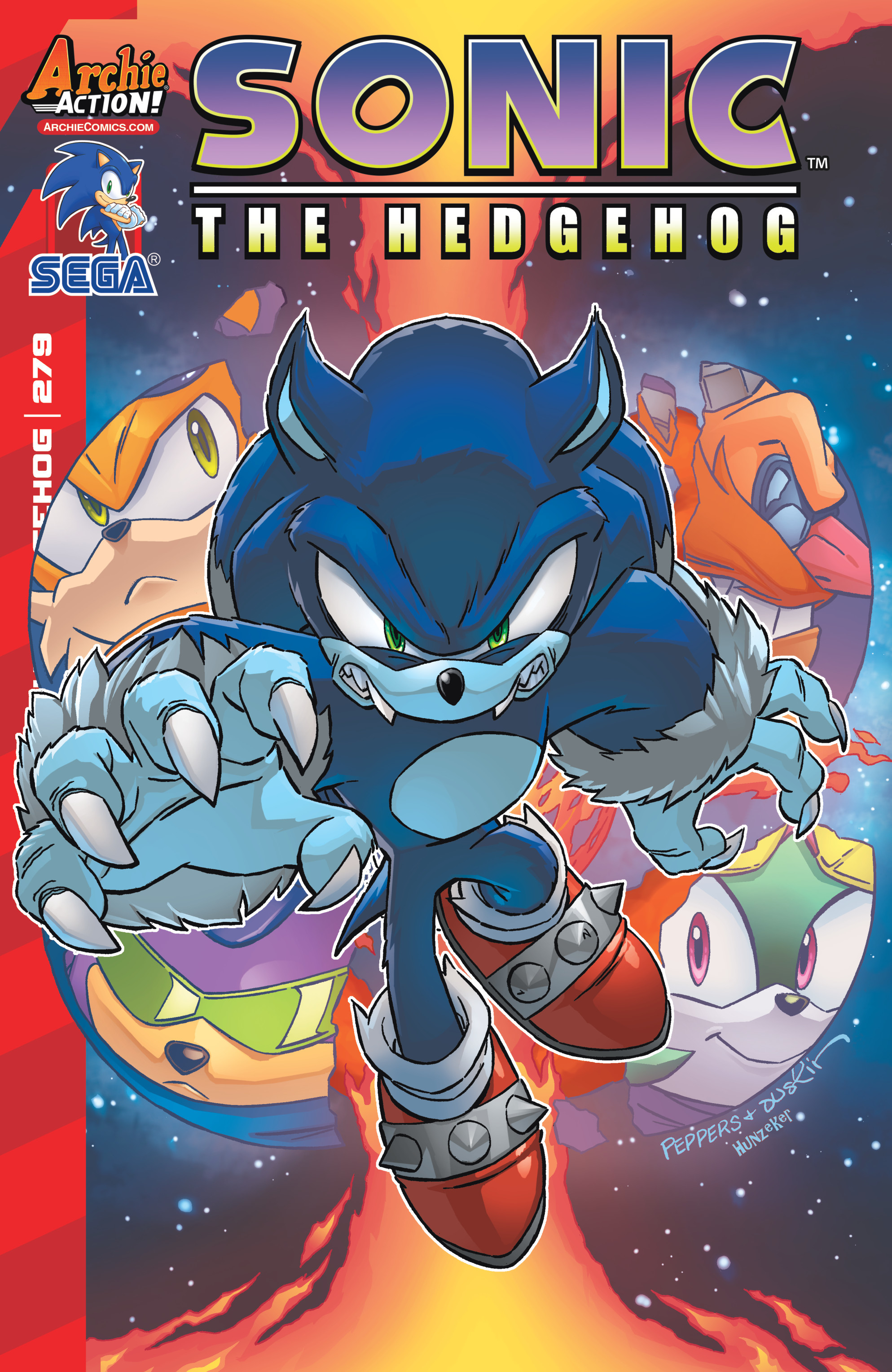 Sonic The Hedgehog (1993) 279 Page 1