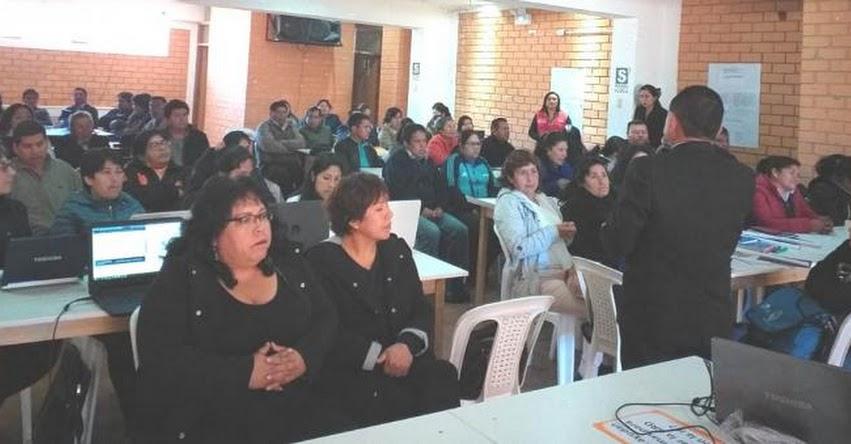 Exitoso I Taller en Gestión del Riesgo Realizó UGEL Santiago de Chuco 2019