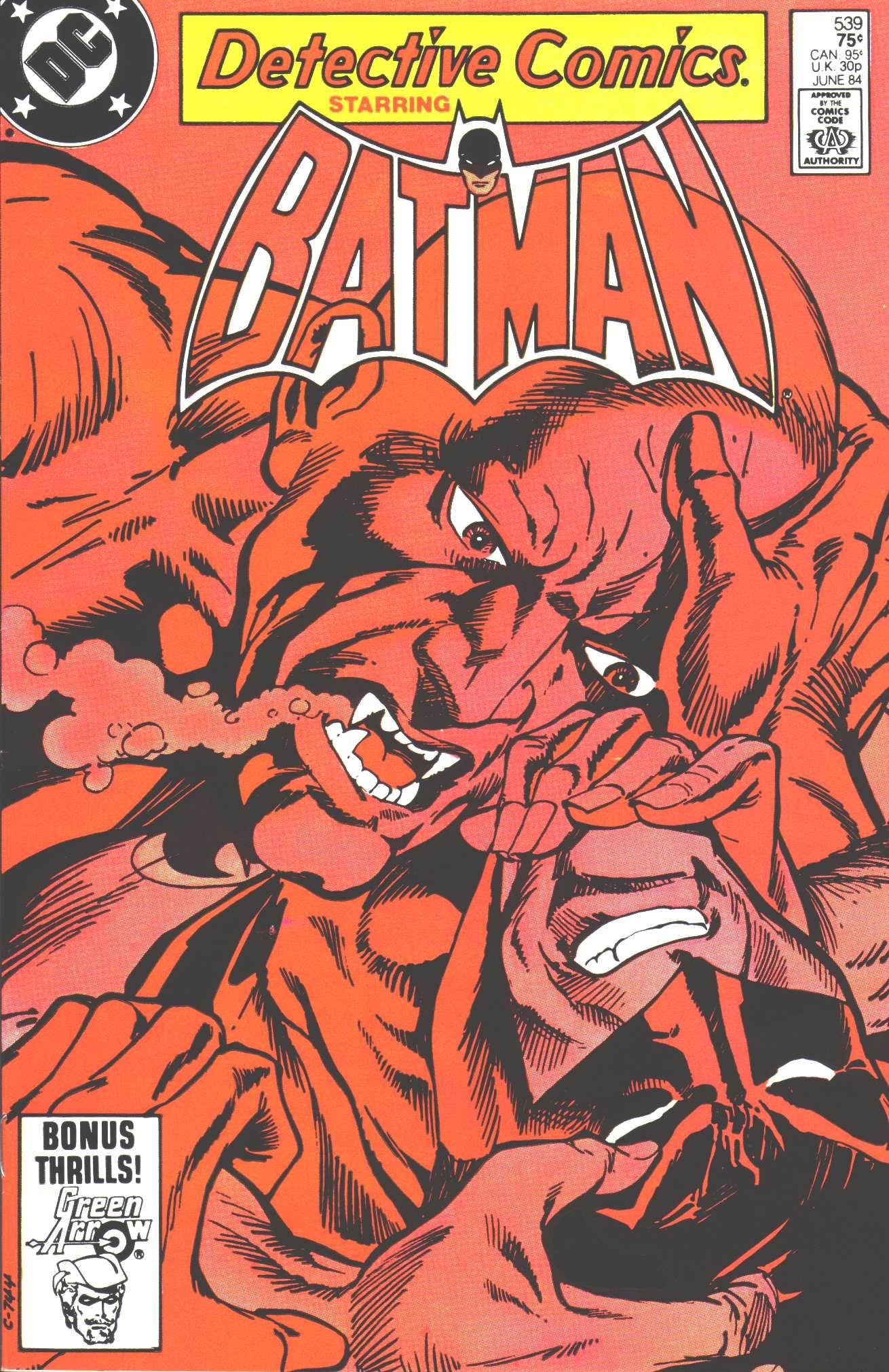 Detective Comics (1937) 539 Page 0