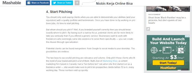 Pilih Niche Freelancer