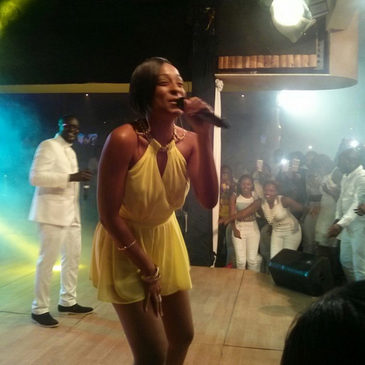 Steamy Photos! Alaine Flaunts Her Juicy & Sexy Thighs On Churchill Show