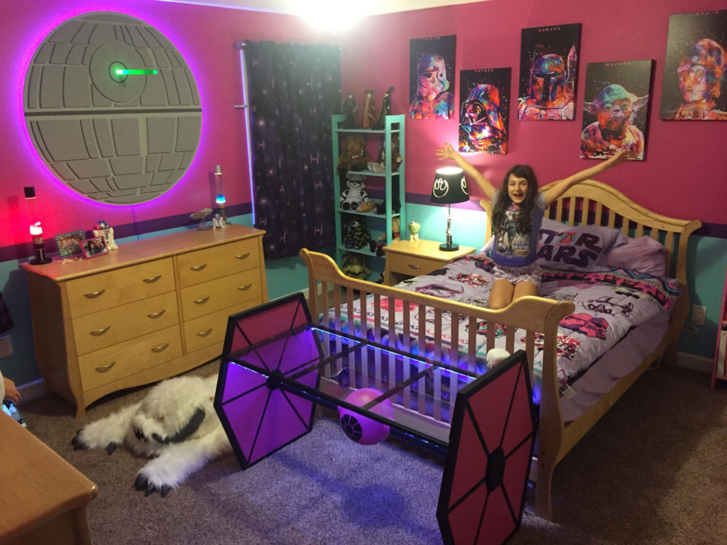 Epbot jen 39 s gems the star wars bedroom of your dreams for Geek bedroom ideas