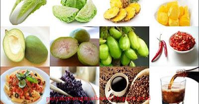 Pantangan Makanan Untuk Penyakit Asam Lambung