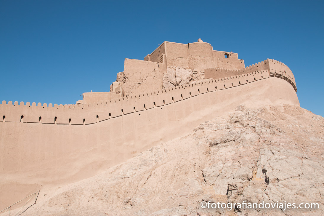 Ciudadela y castillo de Bam