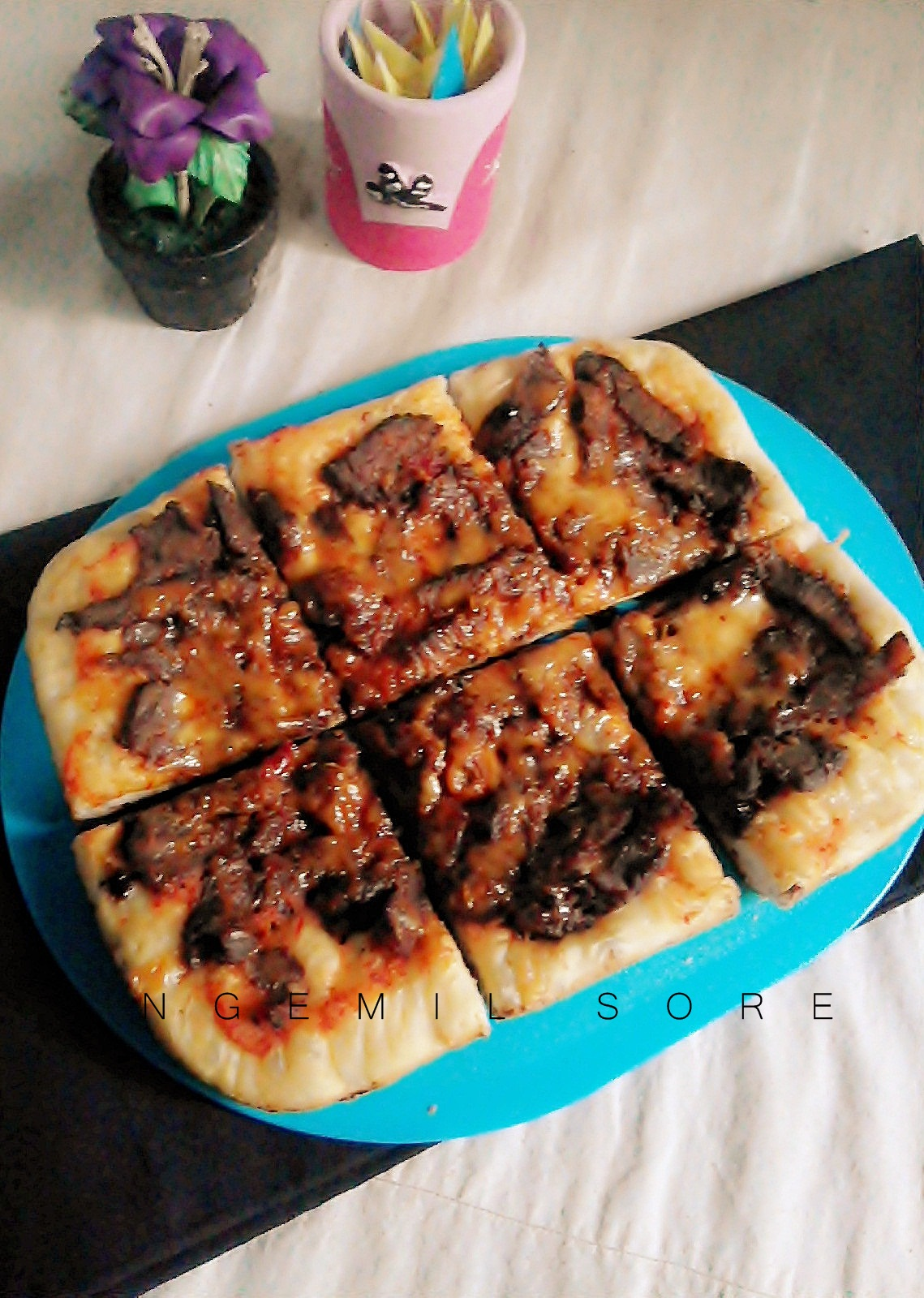 Resep Pizza Bbq Daging Sapi Ngemil Sore