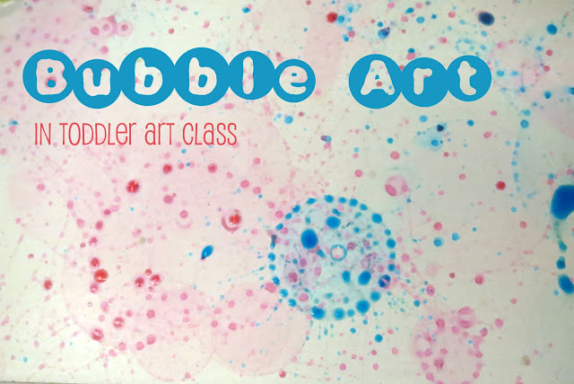 http://librarymakers.blogspot.com/2013/04/toddler-art-class-bubble-art.html