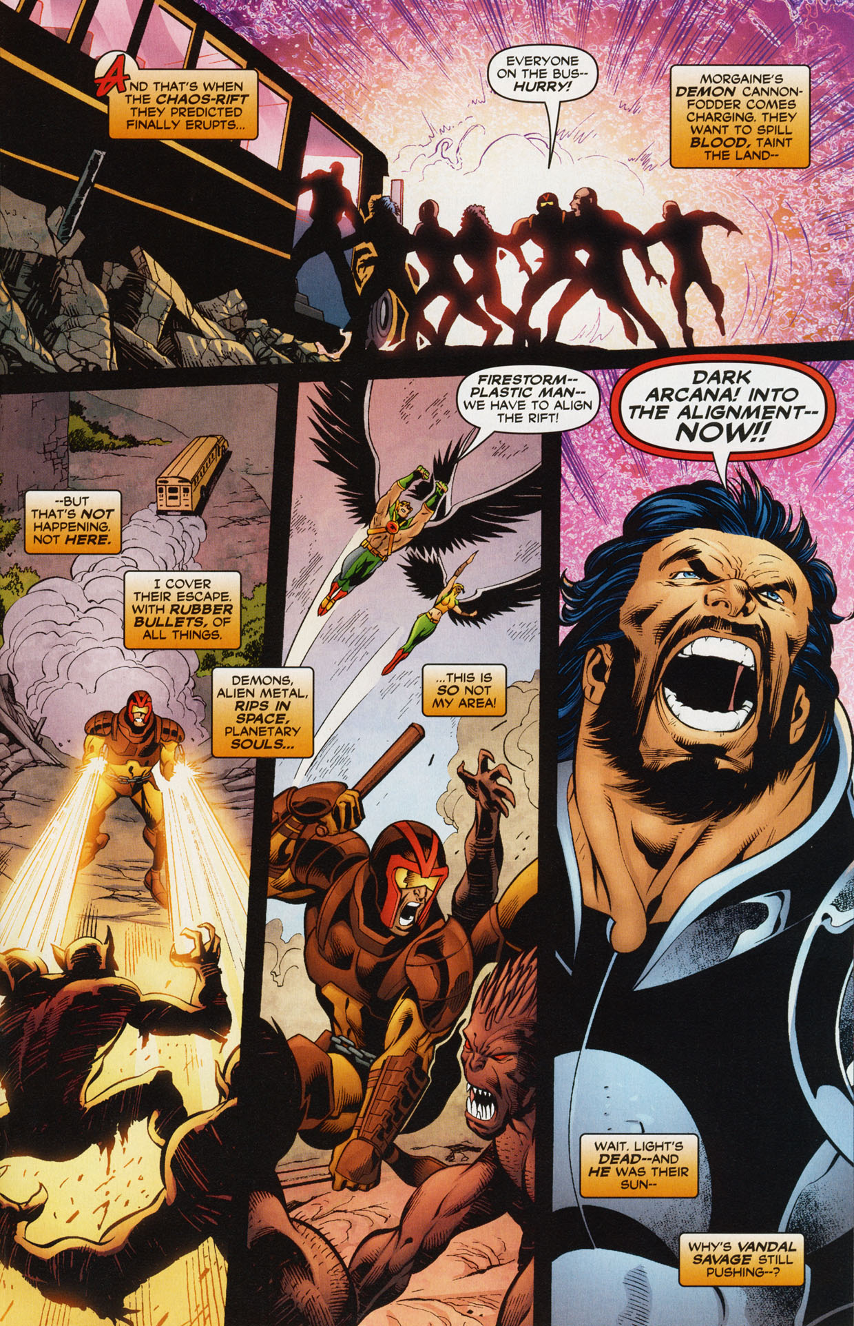 Read online Trinity (2008) comic -  Issue #34 - 25