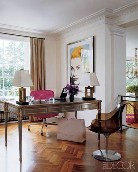 Rooms with chevron and herringbone floor ideas home office