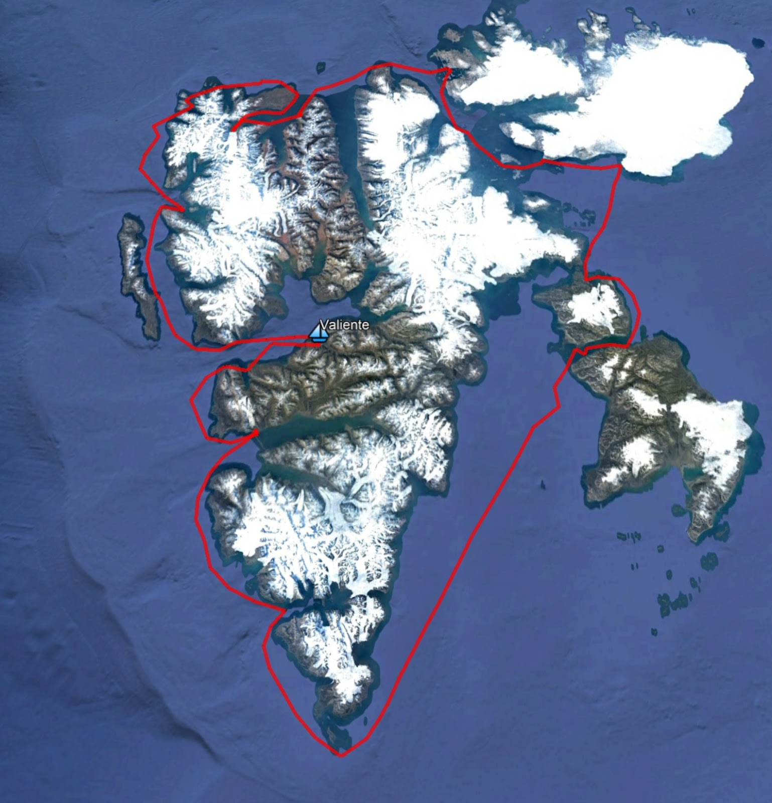 circumnavigating spitsbergen getting there and going round
