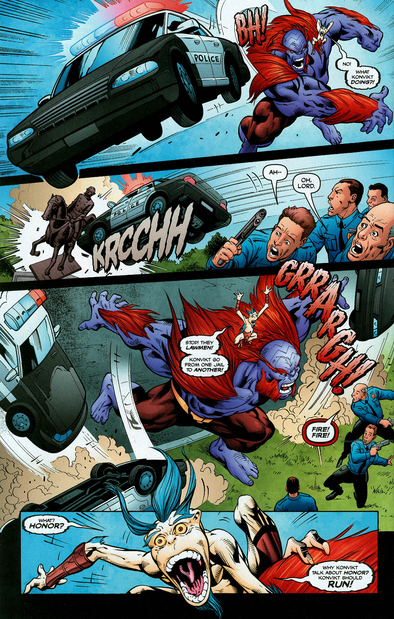 Read online Trinity (2008) comic -  Issue #2 - 23