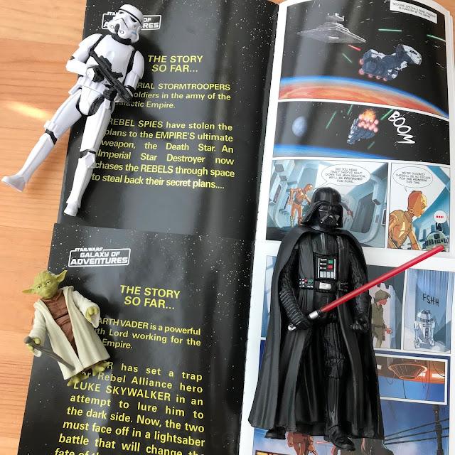 Star Wars Galaxy of Adventures Hasbro Action Figures