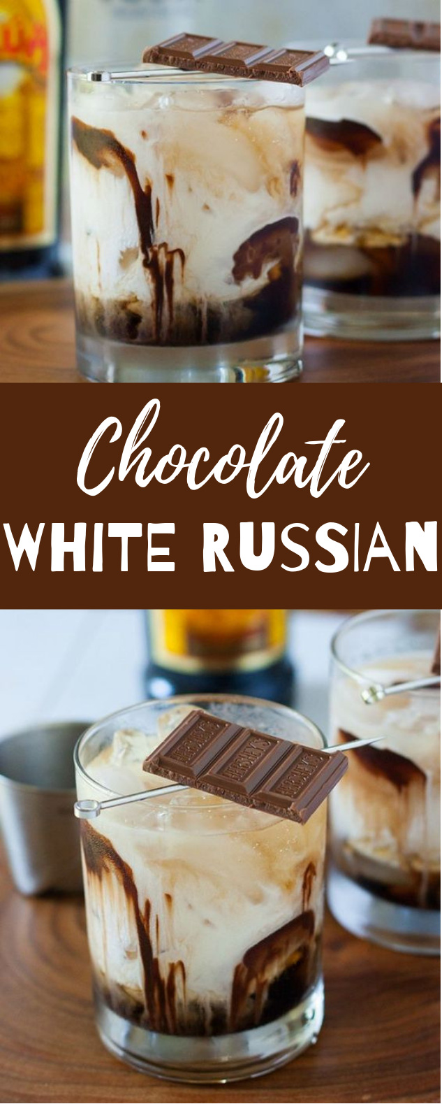 chocolate white russian #chocolate #Drink