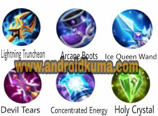 Build Item / gear fasha terkuat -  Full Magic Damage