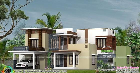 modern box type kerala home design kerala home design