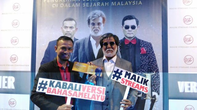 Kabali, Rajanikanth, Khir Khalid,