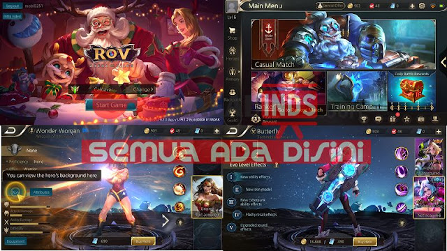 Download Arena Of Valor AOV Thailand 1.19.1.1 English Patch Full APK