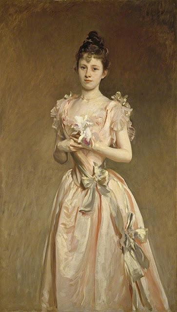 John Singer Sargent (1856-1925)- Мисс Грейс Вудхаус