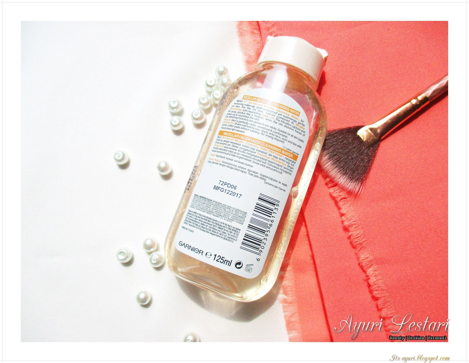 Garnier Oil-Infused Cleansing Water Review