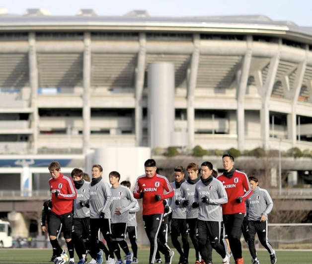 Japan prepare for South American Friendlies