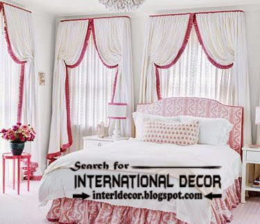 Best Modern curtain designs 2017 curtain ideas, English country curtain for classic bedroom