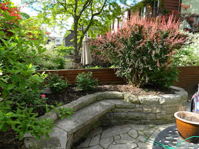 By Paul Jung Gardening Services--a Toronto Gardening Company new back garden makeover in Wychwood before