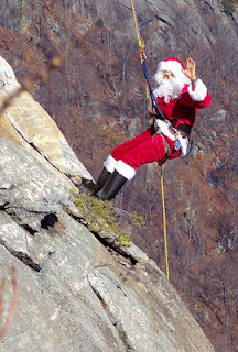 See Santa Claus Rock Climbing And Chimney Rock Park