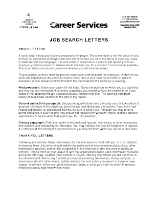 job posting cover letter mid career resume example - Cover Letter For Resume Examples