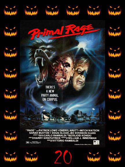 31 Days of Halloween 2017 - Day 20: Primal Rage (1988)   Talk ...