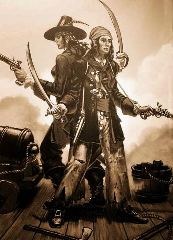 BIOGRAFIAS Y PERSONAJES: MARY READ Mujer pirata