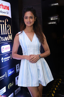 Shanvi Looks super cute in Small Mini Dress at IIFA Utsavam Awards press meet 27th March 2017 115.JPG