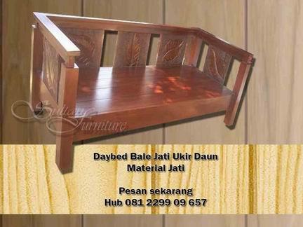 Jual Furniture Jati Jepara Supplier Mebel Daybed Bale