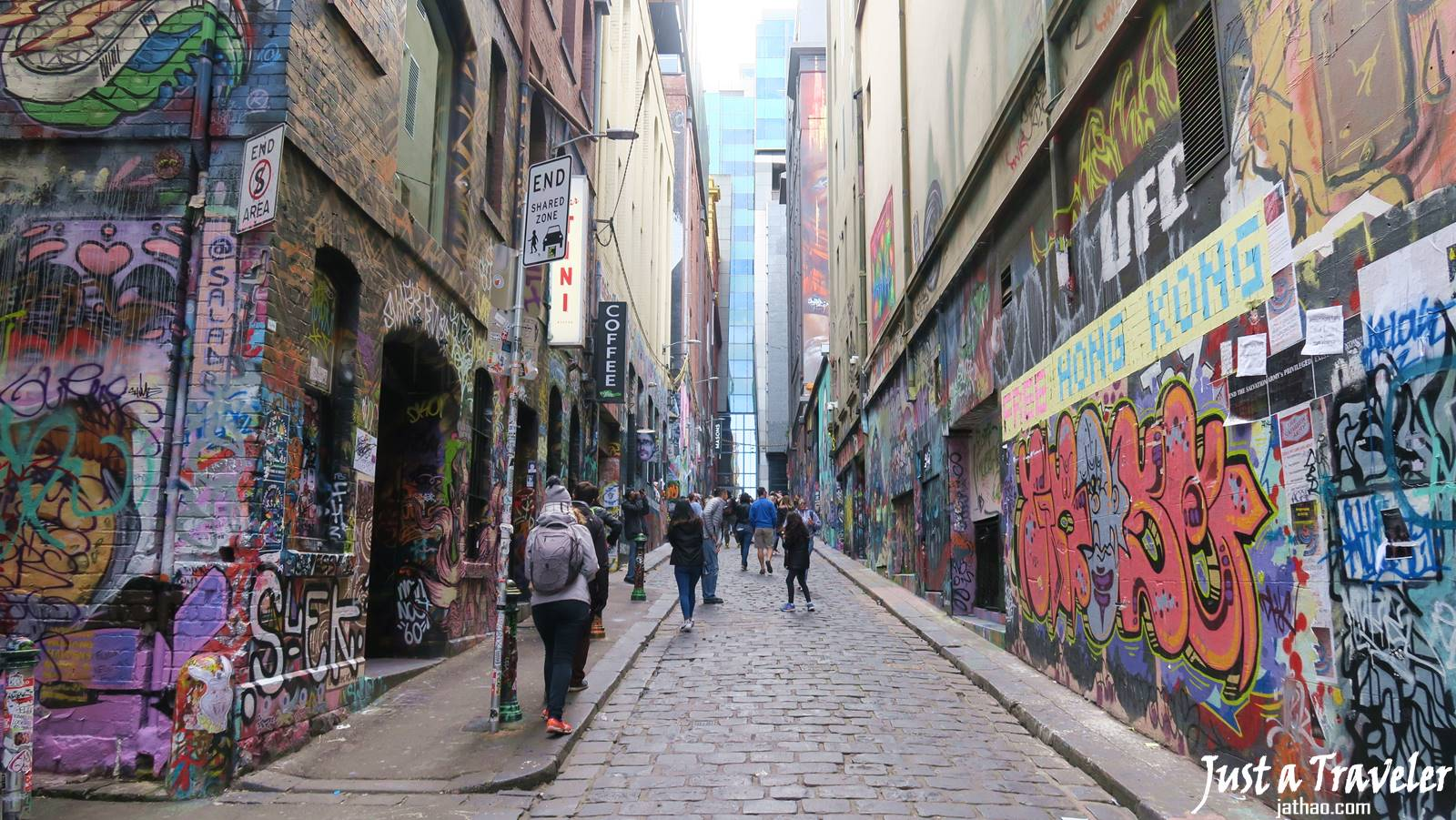 Melbourne-Hosier Lane-CBD-Attraction-Recommendation-Map-Itinerary-Tourism-Independent Travel-Travel Blog-Must visit-Must See