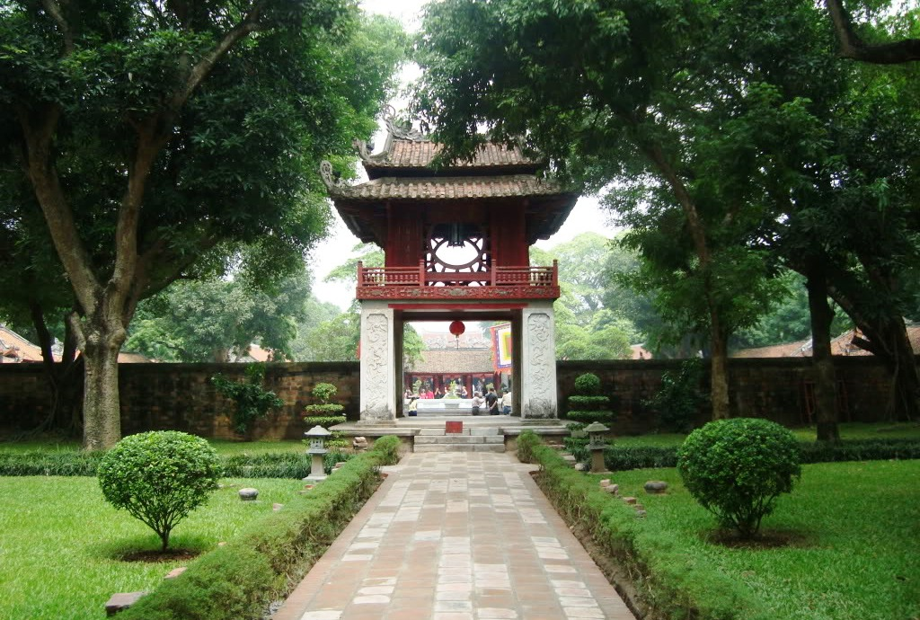 Temple of Literature Hanoi Photos