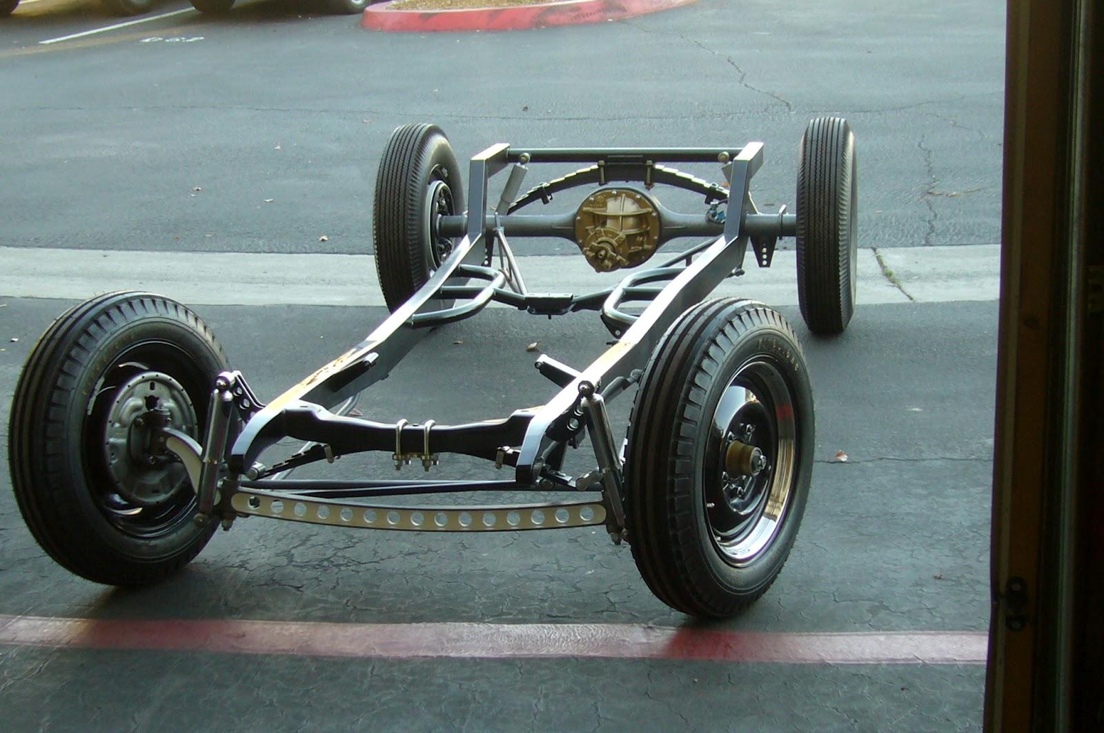 VAPHEAD: Zane\'s Swept front Model A frame