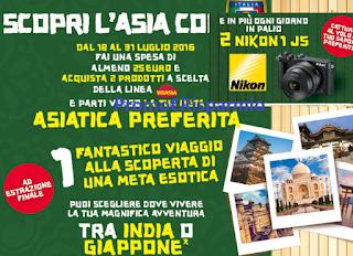 Logo Vinci ogni giorni fotocamere Nikon e viaggio in Asia