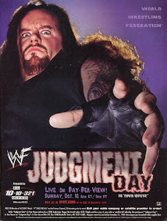 WWE / WWF Judgement Day 1998: In Your House 25 - Event poster