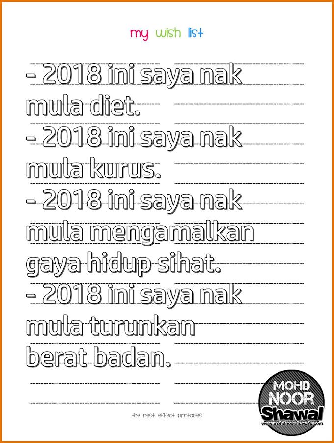 Jangan Lupa Masukkan 5 Perkara Ini Dalam Azam Tahun Baru 2018 !