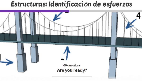 Estructuras: identificación de esfuerzos