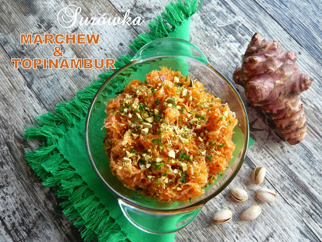 Surówka z topinambura i marchewki - Czytaj więcej »