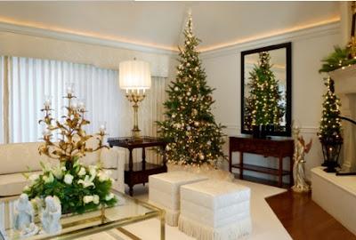 decoraciones navideñas elegantes, como hacer decoraciones de navidad en la sala