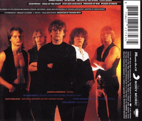 220 VOLT - Two Hundred Twenty Volt [Music On CD reissue / first time on CD] (2018) back